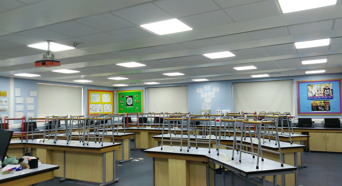 Ashton Community Science College example led 2