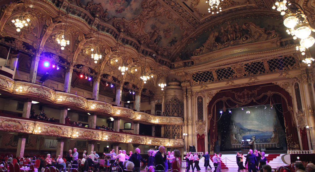 Blackpool Tower Ballroom LED Installation