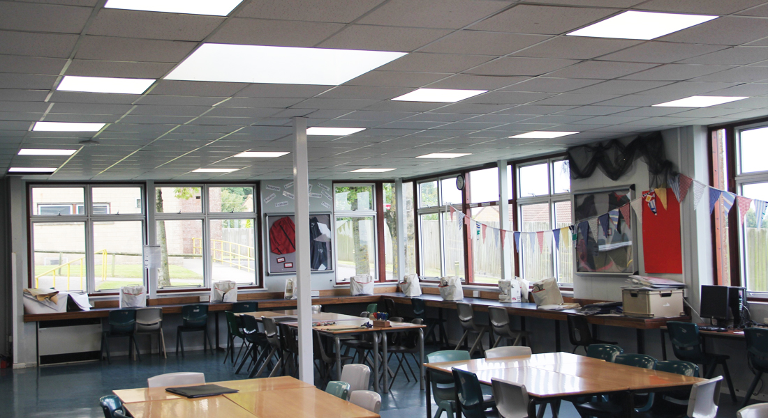 Wadham School Classroom LED Installation