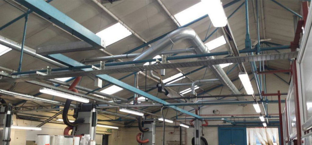 Industrial Led Lighting Case Study Polymeric Labels