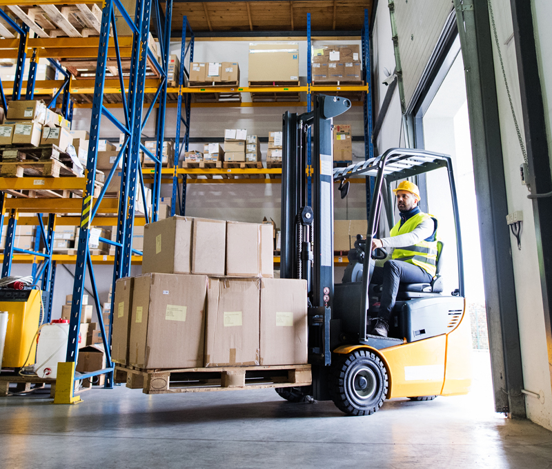 Energy Saving Solutions for Warehouses